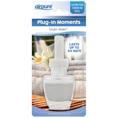 Airpure Plug-In Moments Refill Linen Room 1 st