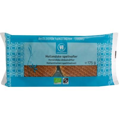 Urtekram Holländische Bio Dinkel-Waffeln 175 g