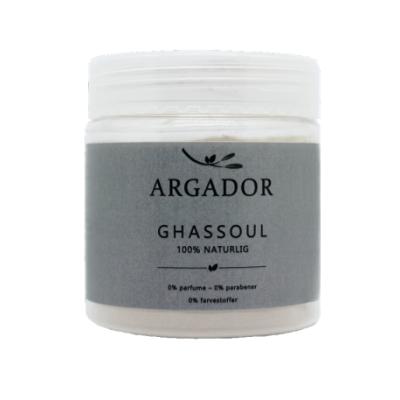 Argador Ghassoul Lava Clay Mask luonnollinen 200 g