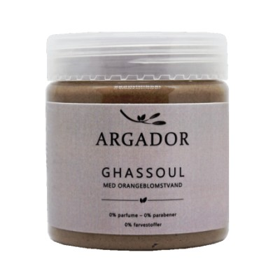 Argador Ghassoul Lava Clay Mask appelsiininkukkaveden kanssa 200 g