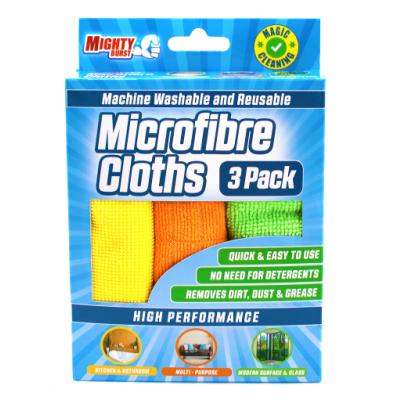 Mighty Burst Microfibre Cloths 3 stk