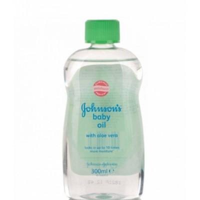 Johnson's Baby Oil Aloe Vera 300 ml