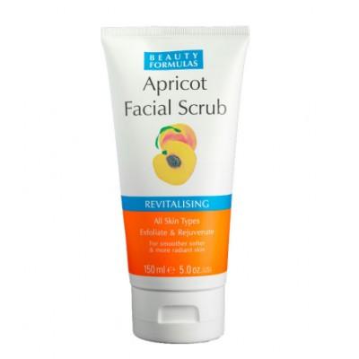 Beauty Formulas Revitalising Apricot Facial Scrub 150 ml