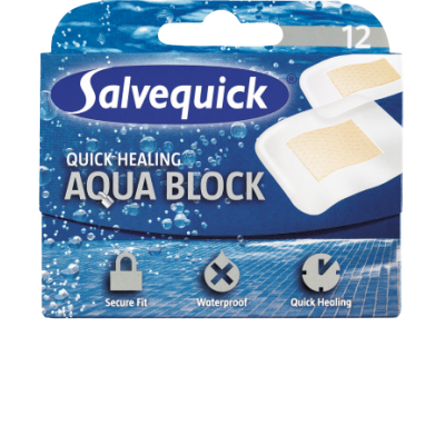 Salvequick Aqua Block 12 pcs