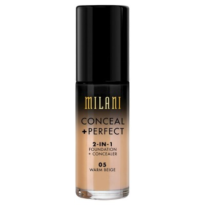 Milani Conceal + Perfect 2in1 Foundation & Concealer 05 Warm Beige 30 ml