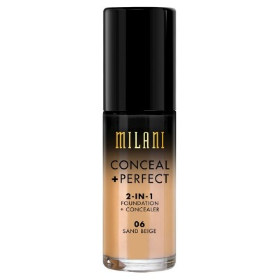 Milani Conceal + Perfect 2in1 Foundation + Concealer 06 Sand Beige 30 ml