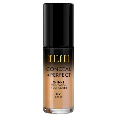 Milani Conceal + Perfect 2in1 Foundation & Concealer 07 Sand 30 ml