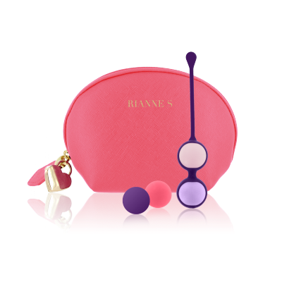 Rianne S Pussy Playballs Coral Rose 4 Playballs + Tasche