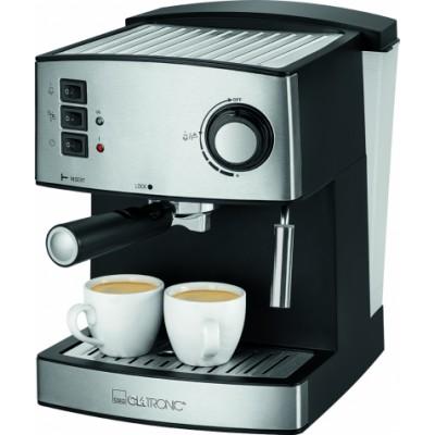 Clatronic ES 3643 Espresso Machine Black Silver 1 stk