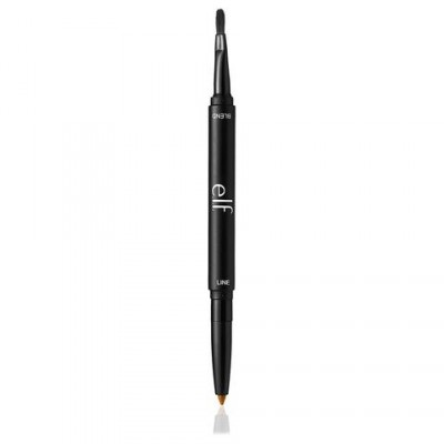 elf  Lip Liner & Blending Brush Natural 1 stk