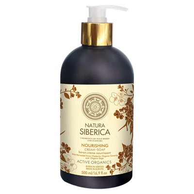Natura Siberica Nourishing Cream Soap 500 ml