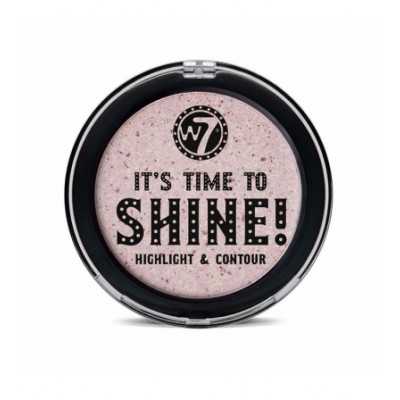W7 It's Time to Shine Face Highlight & Contour 1 st