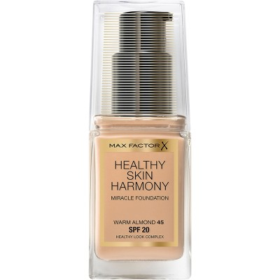 Max Factor Healthy Skin Harmony Foundation 45 Warm Almond 30 ml