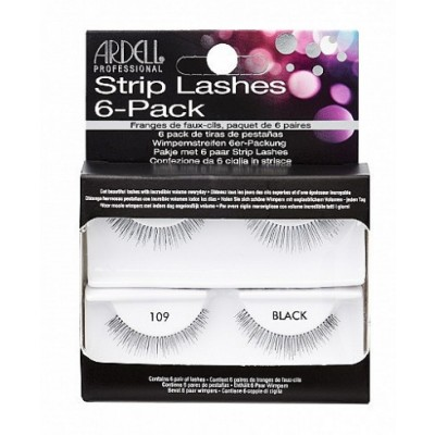 Ardell Strip Lashes 109 Black 6 paar