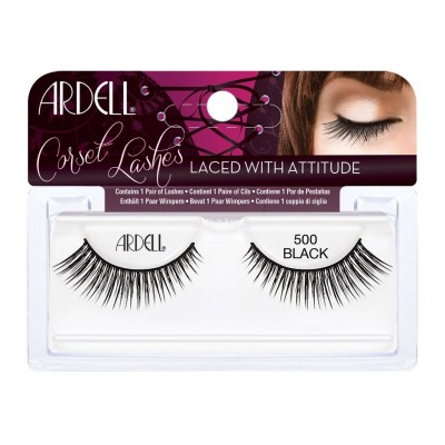 Ardell Corset Lashes 500 Black 1 par
