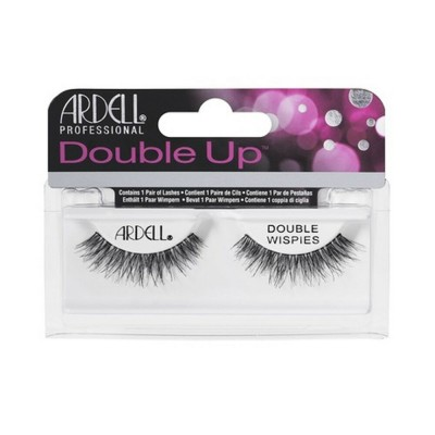 Ardell Double Up Wispies False Lashes Black 1 Paar