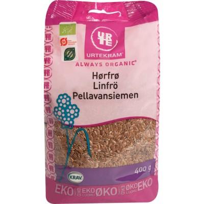 Urtekram Hørfrø Øko 400 g