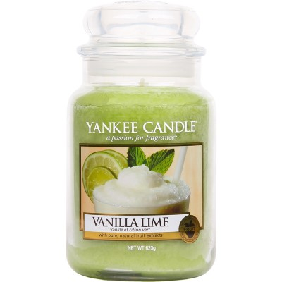 Yankee Candle  Classic Large Jar Vanilla Lime Candle 623 g