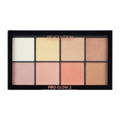 Revolution Makeup Pro Glow 2 Palette 1 stk
