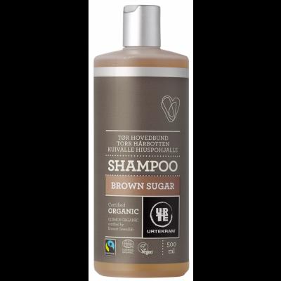 Urtekram Brown Sugar Shampoo Tør Hovedbund 500 ml