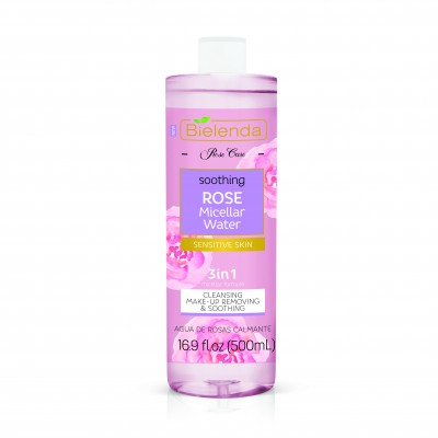 Bielenda Rose Care 3in1 Soothing Rose Micellar Water 500 ml