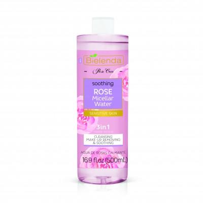 Bielenda Rose Care 3in1 Soothing Rose Micellar Water 500 ml