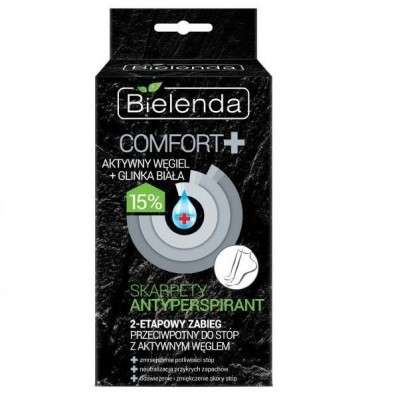 Bielenda Comfort+ Antiperspirant Carbon Socks 1 pair