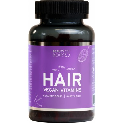 Beauty Bear Hair Vitamins 60 st