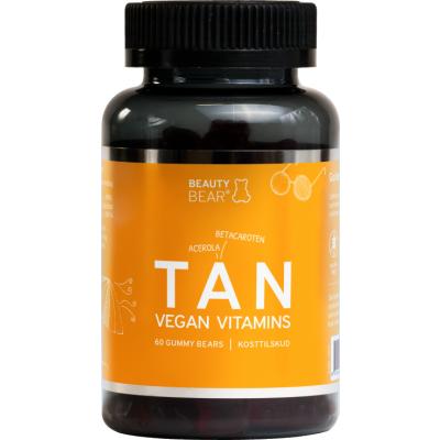 Beauty Bear Beauty Bear Tan Vitamins 60 kpl 60 kpl