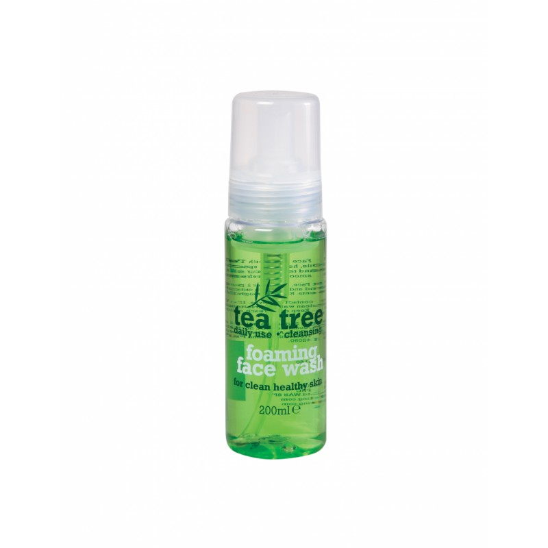 Tea Tree Cleansing Foaming Face Wash 200 Ml 163 0 95