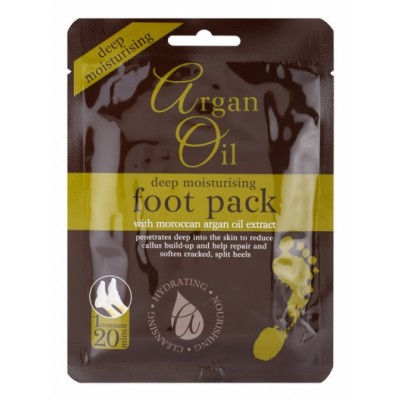 Argan Oil Deep Moisturising Foot Pack 1 pair