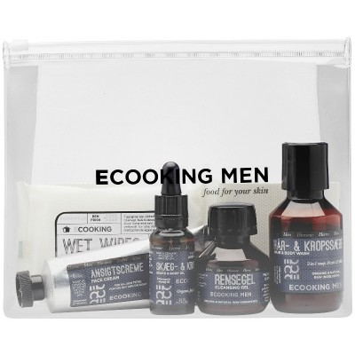 Ecooking Men Starter Kit 100 ml + 2 x 50 ml + 20 ml + 10 st