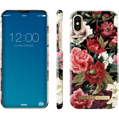 iDeal Of Sweden Fashion Case iPhone X Antique Roses iPhone X