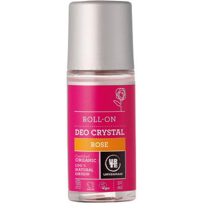 Urtekram Rose Deo Crystal Roll-On 50 ml