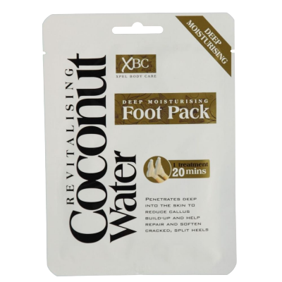 Revitalising Coconut Water Deep Moisturising Foot Pack 1 par