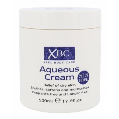 XBC Aqueous Cream SLS Free 500 ml