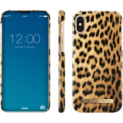 iDeal Of Sweden Fashion Case iPhone X Wild Leopard iPhone X