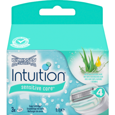Wilkinson Sword Intuition Sensitive Care 3 st