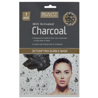 Beauty Formulas Charcoal Detoxifying Bubble Mask 1 st