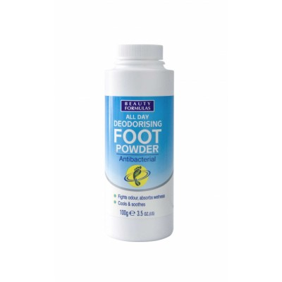 Beauty Formulas Deodorising Foot Powder 100 g