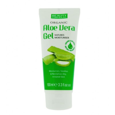 Beauty Formulas Organic Aloe Vera Gel 100 ml