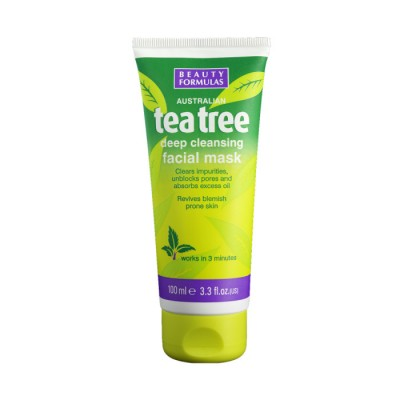 Beauty Formulas Tea Tree Deep Cleansing Facial Mask 100 ml
