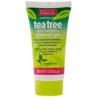 Beauty Formulas Tea Tree Skin Clarifying Blemish Gel 30 ml