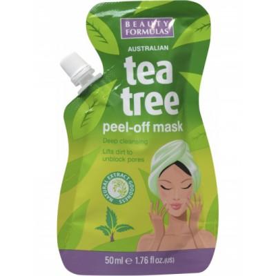 Beauty Formulas Tea Tree Peel-Off Mask 50 ml