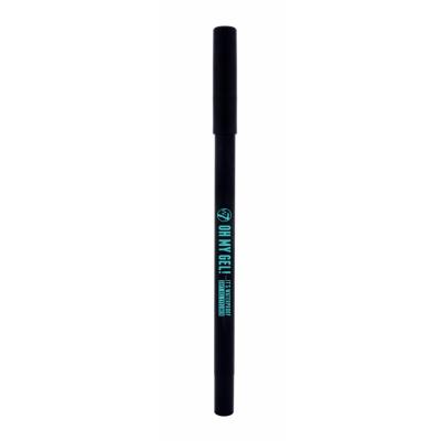 W7 Oh My Gel! Waterproof Soft Gel Eyeliner Black 1 st