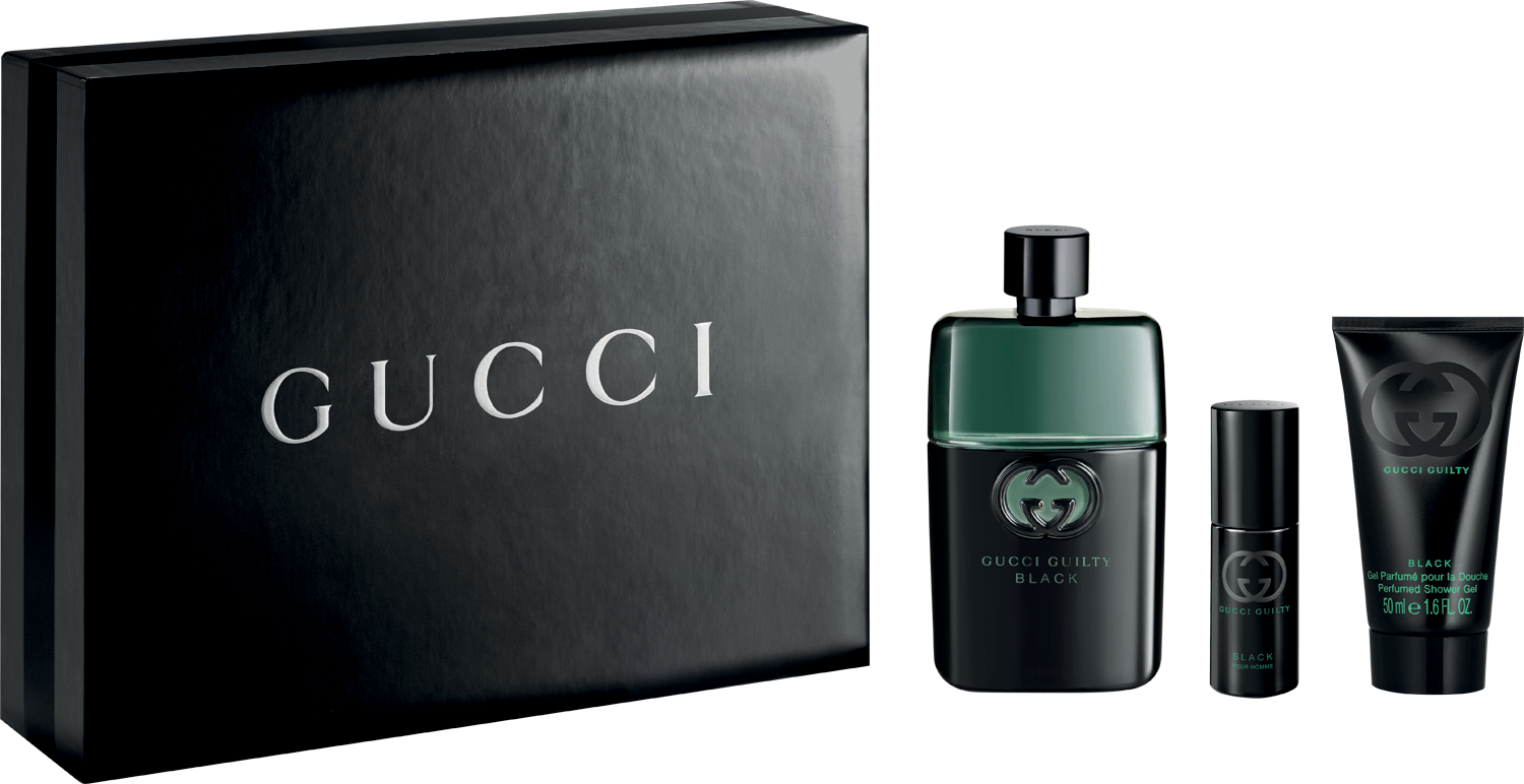 ddc7a77fd Gucci Guilty Black Pour Homme EDT & Mini & Showergel 90 ml + 8 ml + ...