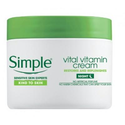 Simple Vital Vitamin Night Cream 50 ml
