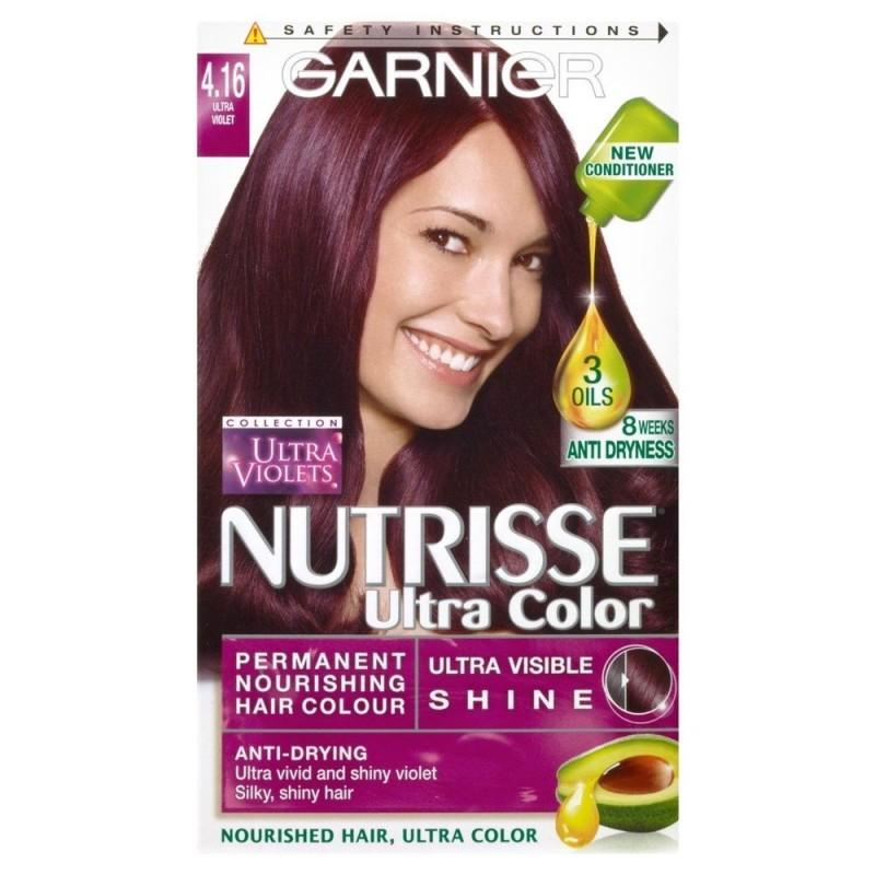 Garnier Nutrisse Ultra Color 4 16 Ultra Violet 1 Pcs 163 1 45