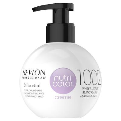 Revlon Nutri Color Creme 1002 White Platinum 270 ml