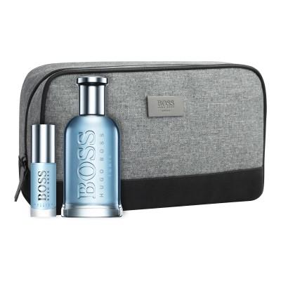 Hugo Boss Bottled Tonic EDT & EDT Mini & Toilet Bag 100 ml + 9 ml + 1 st
